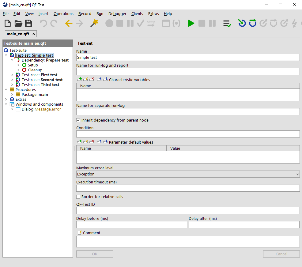 Components of a GUI