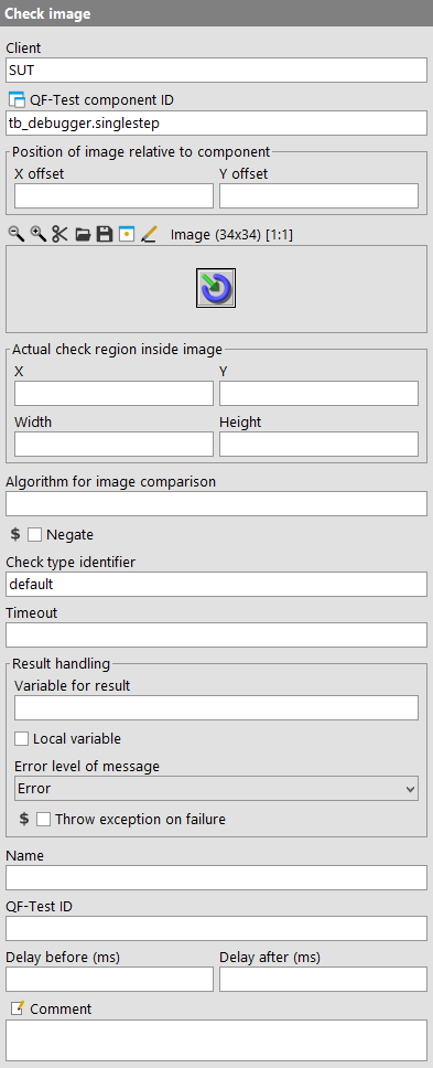 Check image attributes